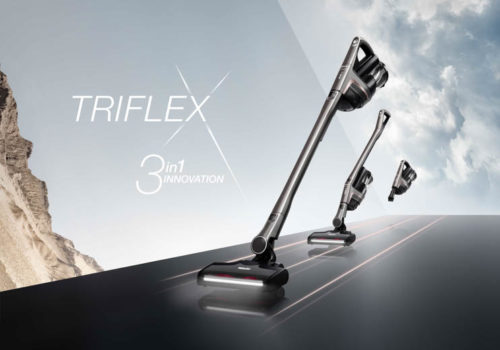 Miele uvádí na trh svůj tyčový aku vysavač Triflex
