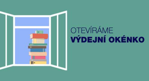 Krajská knihovna spouští od 16. února výdejní okénka