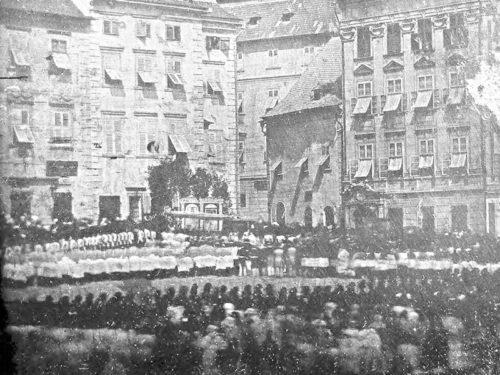 Světový unikát na Špilberku – nejstarší dochovaný reportážní snímek poprvé vystaven