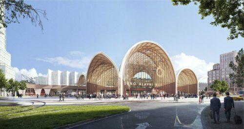 Mezinárodní soutěž na nové hlavní nádraží vyhráli nizozemští architekti Benthem Crouwel
