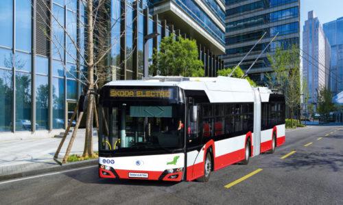 V Brně bude jezdit dalších 20 trolejbusů od plzeňské Škody Transportation